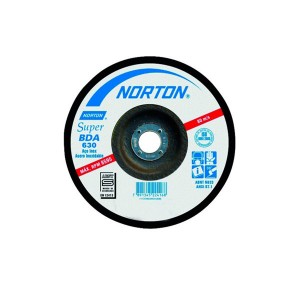 Disco de Desbaste p/ Inox 7 Pol. x 1/4 Pol. x 7/8 Pol. - BDA630 - Norton