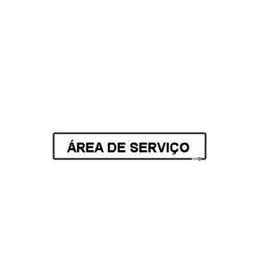 Placa Área de Serviço PS-425 - Encartale