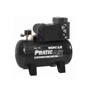 Compressor de Ar Baixa Pressão 10 Pés 100L Monofásico - CSV10/100 - Schulz