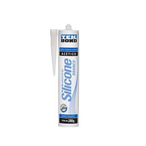 Silicone Acético Branco 280G - Tekbond
