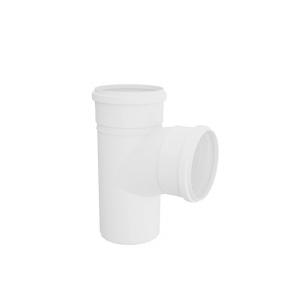 Tê PVC para Esgoto 100x100mm Branco - Tigre